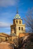 Albarracin Teruel, Aragon, Spanien Arkivbild