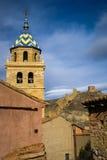 Albarracin Teruel, Aragon, Spanien Fotografering för Bildbyråer