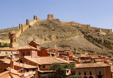 Albarracin.Teruel.Spain Stock Photos
