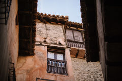 Albarracin in Teruel, Spanje Stock Foto's