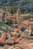 Albarracin town Royalty Free Stock Photo