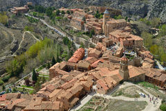 Albarracin town Royalty Free Stock Photography