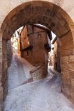 Albarracin,  Typical building Royalty Free Stock Image