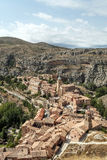 Albarracin in vertical Stock Images