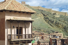 Albarracin village Stock Photo