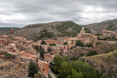 Albarracin village Stock Images