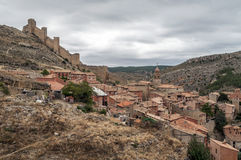 Albarracin village Royalty Free Stock Image