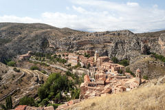 Albarracin village Stock Image