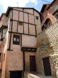 Albarracin village Teruel Spain Stock Images