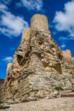 Albarracin wall, Spain. Royalty Free Stock Photos