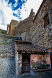 Albarracin wall, Spain. Stock Photography