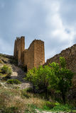 Albarracin wall, Spain. Royalty Free Stock Images