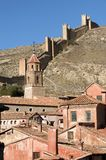 Albarrcin in Teruel, Spain. Royalty Free Stock Photo