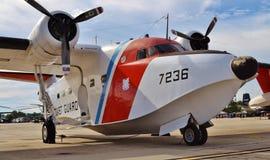 Albatros-Überwachungsflugzeug der Küstenwache-HU-16E Stockfotografie