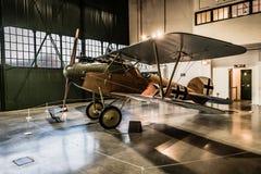 Albatros D 在皇家空军博物馆的VA复制品 库存图片