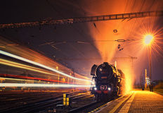 Albatros steam locomotive Stock Photography