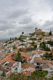Albaycin. Grenada. View of Albaycin neighborhood in Grenada (Spain Stock Images