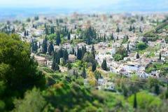 Albayzín Granada Hiszpania obraz royalty free