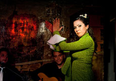 albayzin flamenco Fotografia Stock