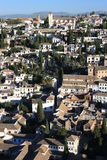 Albayzin in Granada Royalty Free Stock Photos