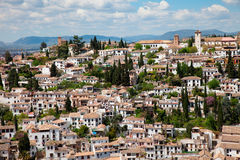 Albayzin, Granada Royalty Free Stock Photos