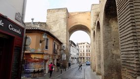 Albayzin-Granada-Elvira dörr Arkivbild