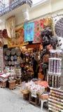 Albayzin-Granada-herinnering winkel stock afbeeldingen