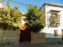 Albayzin---Granada - l'Andalusia--La Spagna Fotografia Stock