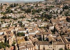 Albayzin Granada Spain Stock Images