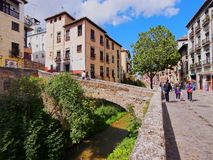 Albayzin in Granada, Spain Stock Photo