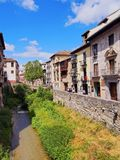 Albayzin in Granada, Spain Royalty Free Stock Photo