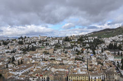 Albayzin, Granada (Spanien) Lizenzfreies Stockbild