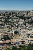 Albayzin neighborhood  in Granada, Spain Stock Photography