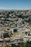 Albayzin neighborhood  in Granada, Spain Stock Photography