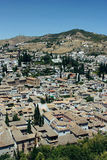 Albayzin neighborhood  in Granada, Spain Stock Images