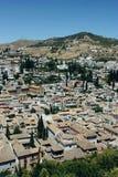 Albayzin neighborhood  in Granada, Spain Stock Images