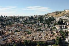 Albayzin neighborhood  in Granada, Spain Stock Photo