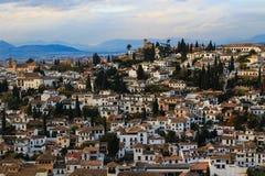 Albazin i Granada, Spanien Fotografering för Bildbyråer