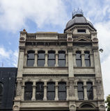 The Albemarle building. Wellington, New Zealand - February 10, 2017: The Albemarle building facade at Cuba Mall street Royalty Free Stock Photography