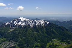 Alben range from north west, Orobie, Italy Stock Images