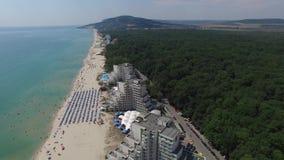 Albena, Βουλγαρία απόθεμα βίντεο