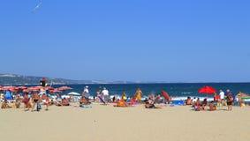 Albena beach and Kaliakra cape,Bulgaria Royalty Free Stock Photos