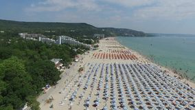 Albena, Bulgaria stock footage