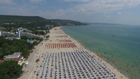 Albena, Bulgaria video d archivio