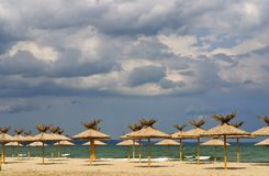 Albena - health resort in Bulgaria Royalty Free Stock Photography