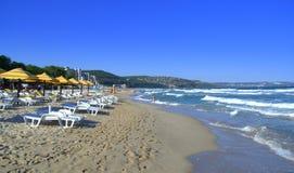 Albena resort beach,Bulgaria Stock Photo