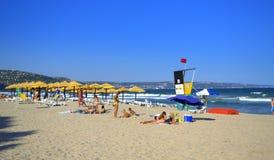 Albena resort beach,Bulgaria Royalty Free Stock Image