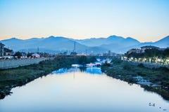 Albenga Italien Stockfotografie
