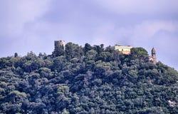 Albenga, Liguria, Italy. July 2018. The Gallinara island stock photography