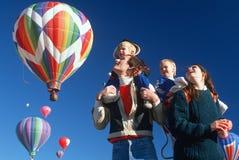 Albequerque Hot Air Balloon Festival Stock Photography